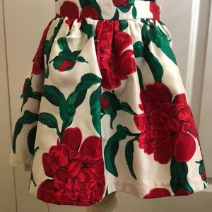 Gymboree Christmas skirt 5t